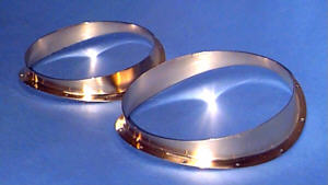 Gold plated port isolation rings.
